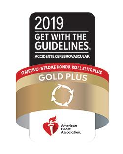 Gold Plus Stroke Award2019